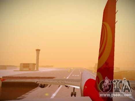 Airbus A340-600 Hainan Airlines for GTA San Andreas wheels