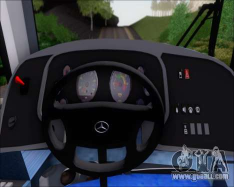 Neobus Spectrum Linea 38 Mcal. Lopez for GTA San Andreas interior