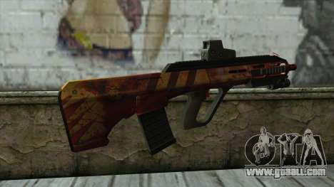 AUG A3 from PointBlank v4 for GTA San Andreas second screenshot