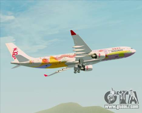 Airbus A330-300 Dragonair (20th Year Livery) for GTA San Andreas side view