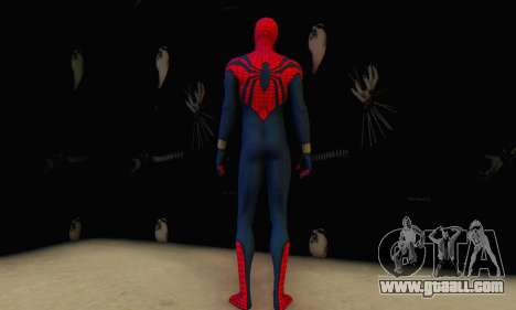 Skin The Amazing Spider Man 2 - Suit Ben Reily for GTA San Andreas forth screenshot