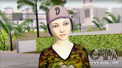 Adult Clementine for GTA San Andreas third screenshot