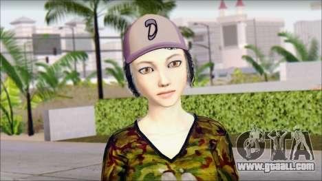 Adult Clementine for GTA San Andreas third screenshot
