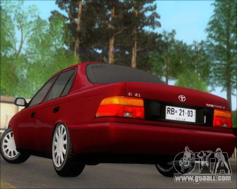 Toyota Corolla 1.6 for GTA San Andreas