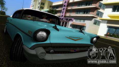 Chevrolet BelAir 1957 for GTA Vice City back view