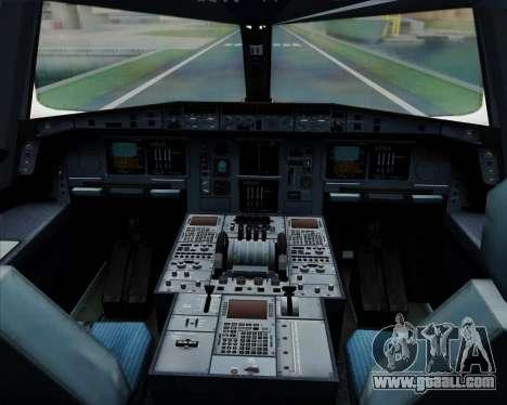 Airbus A380-841 Emirates for GTA San Andreas interior