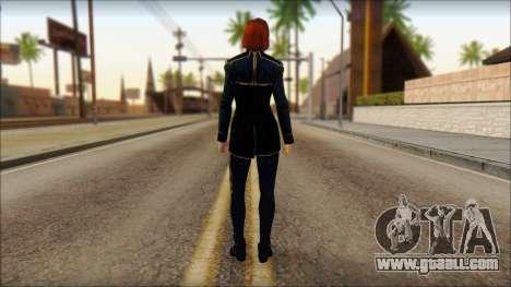 Mass Effect Anna Skin v1 for GTA San Andreas second screenshot