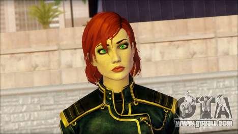 Mass Effect Anna Skin v1 for GTA San Andreas third screenshot