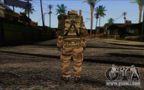 Soldiers MEK (Battlefield 2) Skin 3 for GTA San Andreas second screenshot
