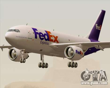 Airbus A310-300 Federal Express for GTA San Andreas