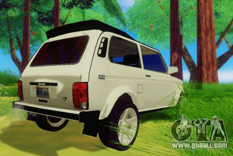 LADA-212180 Fora for GTA San Andreas right view