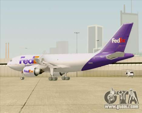 Airbus A310-300 Federal Express for GTA San Andreas bottom view