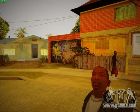 Updated house CJ for GTA San Andreas second screenshot