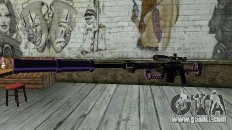 PurpleX Sniper Rifle for GTA San Andreas