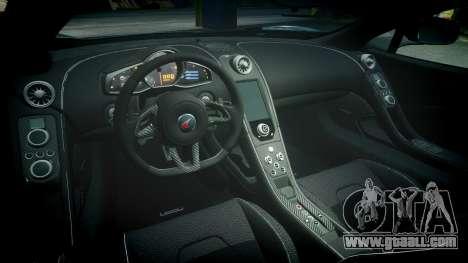 McLaren 650S Spider 2014 [EPM] Bridgestone v1 for GTA 4 inner view