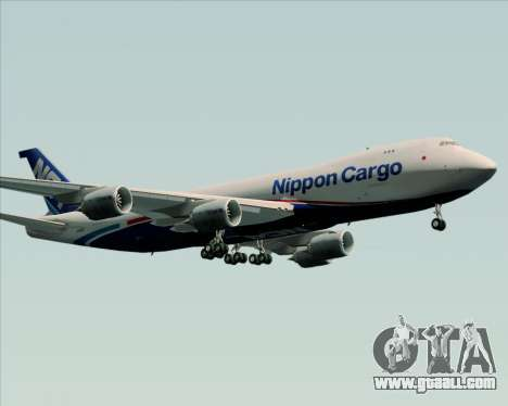 Boeing 747-8 Cargo Nippon Cargo Airlines for GTA San Andreas