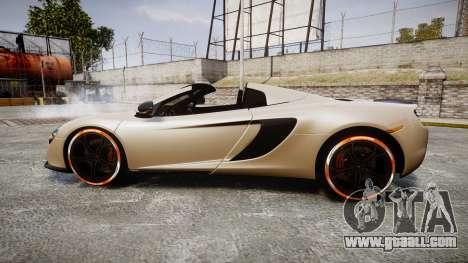 McLaren 650S Spider 2014 [EPM] Bridgestone v1 for GTA 4 left view