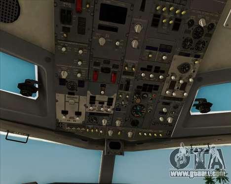 Boeing 737-8AS Ryanair for GTA San Andreas engine