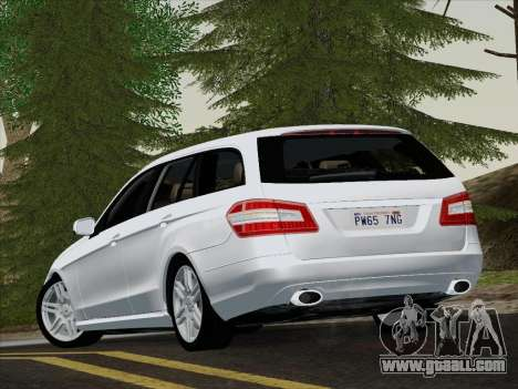 Mercedes-Benz E250 Estate for GTA San Andreas back view