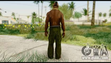 MR T Skin v1 for GTA San Andreas second screenshot