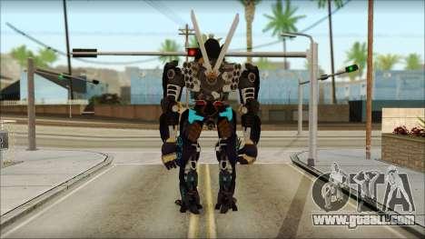 Дрифт (Transformers: Rise of the Dark Spark) for GTA San Andreas second screenshot