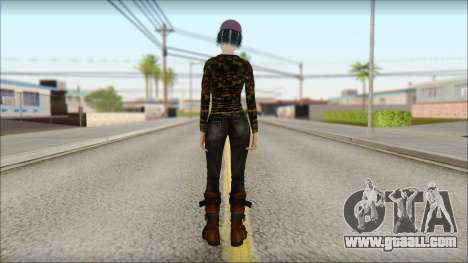 Adult Clementine for GTA San Andreas second screenshot