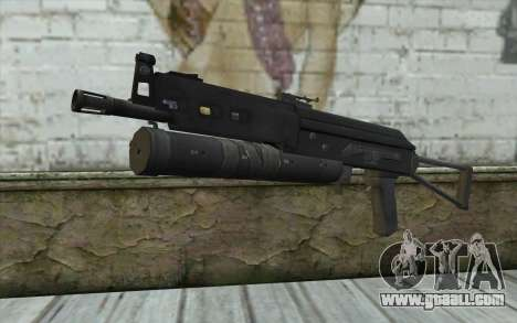 PP-19 Bizon (Battlefield 2) for GTA San Andreas