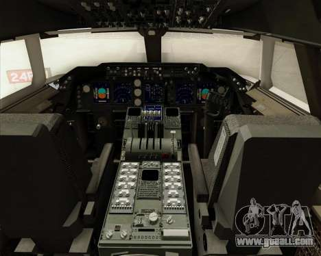 Boeing 747-8 Cargo British Airways World Cargo for GTA San Andreas interior