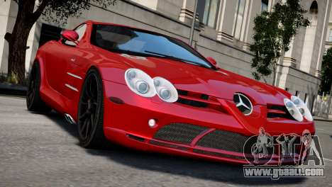 Mercedes SLR McLaren for GTA 4 right view