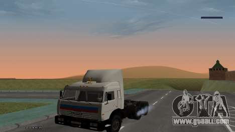 KamAZ 54115 for GTA San Andreas right view