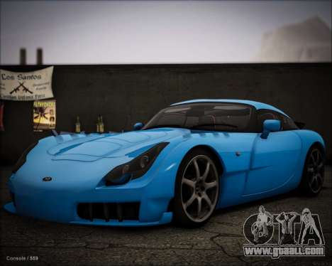 TVR Sagaris 2005 for GTA San Andreas