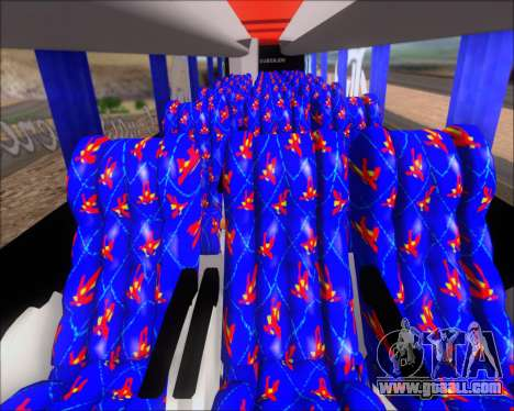 Busscar Elegance 360 C.R.F Flamengo for GTA San Andreas interior