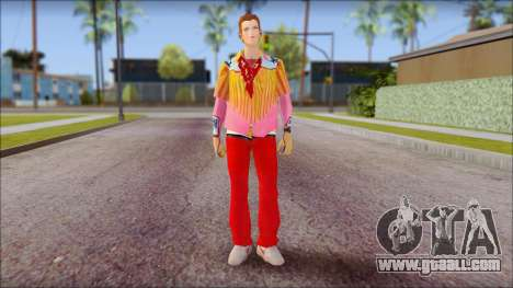 Marty from Back to the Future 1885 for GTA San Andreas