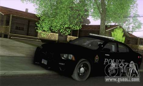 Dodge Charger ViPD 2012 for GTA San Andreas