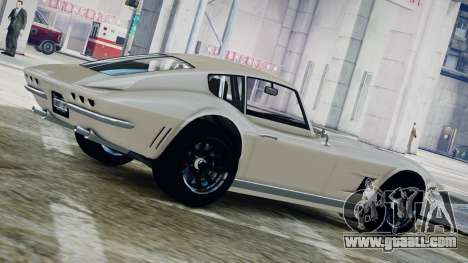 GTA 5 Coquette Classic for GTA 4 left view