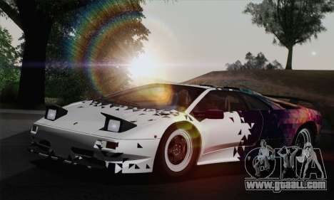 Lamborghini Diablo SV 1995 (HQLM) for GTA San Andreas wheels