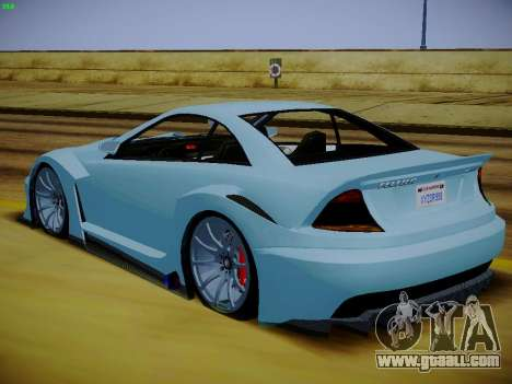 Benefactor Feltzer из GTA 5 for GTA San Andreas left view