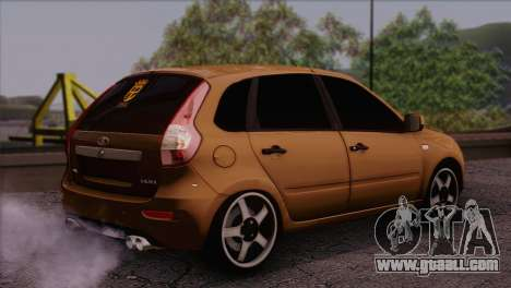 Lada Kalina 2 Wagon for GTA San Andreas left view