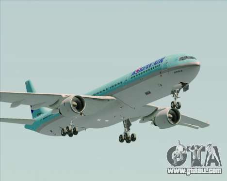 Airbus A330-300 Korean Air for GTA San Andreas side view
