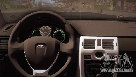 Lada 2170 Piora Turbo for GTA San Andreas back left view