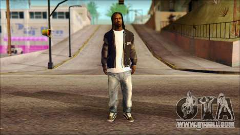 New Grove Street Family Skin v6 for GTA San Andreas