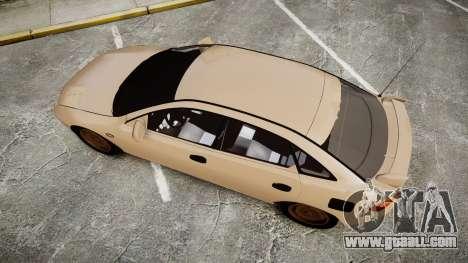 Mazda 323f 1998 for GTA 4 right view