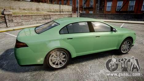 GTA V Vapid Taurus for GTA 4 left view
