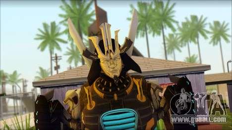 Дрифт (Transformers: Rise of the Dark Spark) for GTA San Andreas third screenshot