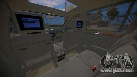 Mercedes-Benz GL450 AMG Police Interceptor 2013 for GTA 4 side view