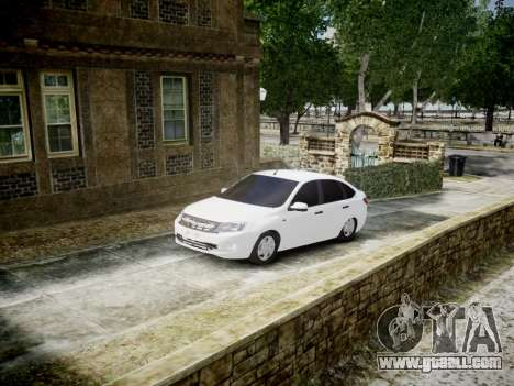 Lada Granta Liftback for GTA 4
