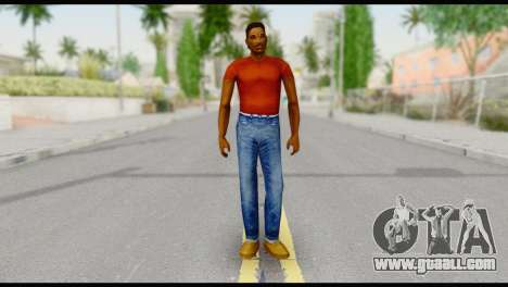 Lance no Glasses Casual for GTA San Andreas