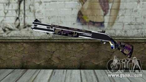 Graffiti Shotgun v3 for GTA San Andreas