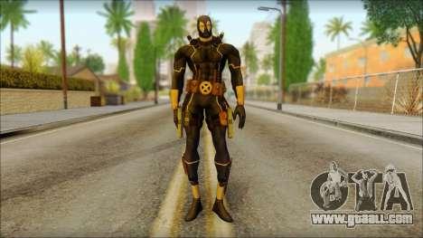 Xmen Alt Deadpool The Game Cable for GTA San Andreas