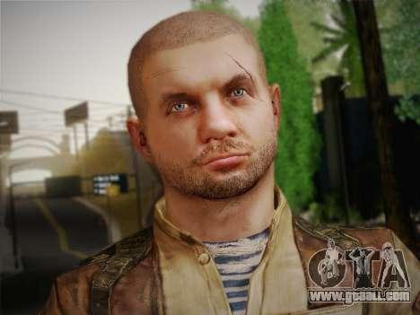 Paul (Metro Last Light) for GTA San Andreas third screenshot
